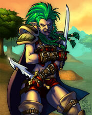 World of Warcraft Troll Rogue by breakbot