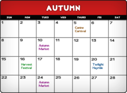 Autumncalendar