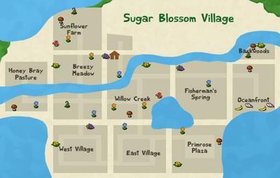 Forage map spring