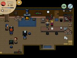 Midnight tavern inside
