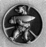Wojtek badge 22nd supply company