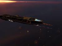 An escort carrier