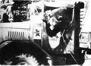 Wojtek in truck