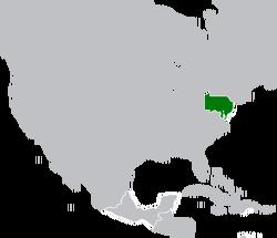 Map Location of Pennsylavania Oct-1720
