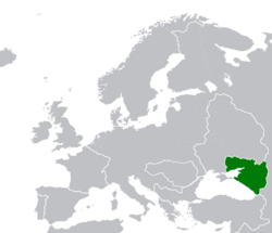 Map Location of Azovia Oct-1920