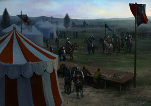 Agincourt mustering by ethicallychallenged-d988hwm