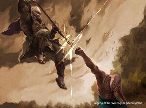 L5R devil strike by henryz