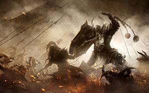 Diablo 3 fanart crusader by m hugo-d7a3ush