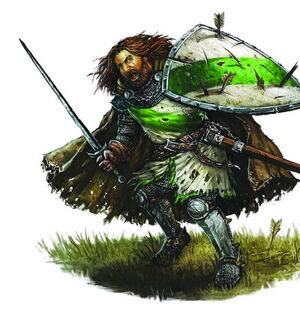 A warrior 2