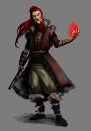 Novaliss the fire mage by monicamarie1019-d7spi6s