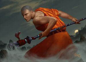 Mistweaver monk by benibenigg-d8946us