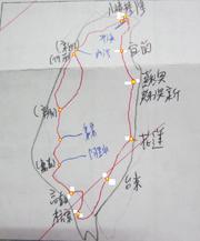 台灣鐵路路線圖