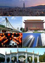 Taipei City montage