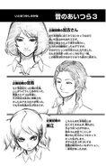 Nozomi, Satori and Futaba first design