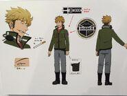 Kotaro Suwa anime design (AniJa 2015)