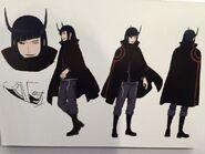 Enedra anime design (AniJa 2015)