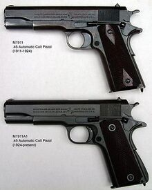 330px-M1911 and M1911A1 pistols