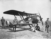 330px-AFC de Havilland DH 5 Scout plane Sept 1917