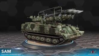 World War Online - Mobile Sam (Supreme Armored Unit)