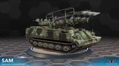 World War Online - Mobile Sam (Supreme Armored Unit)