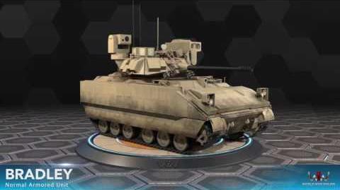 World War Online - Bradley (Normal Armored Unit)