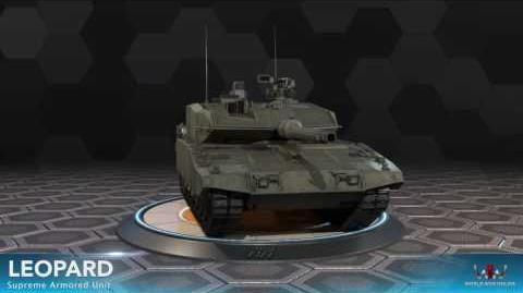 World War Online - Leopard 2 (Supreme Armored Unit)