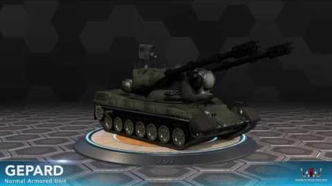 World War Online - Gepard (Normal Armored Unit)