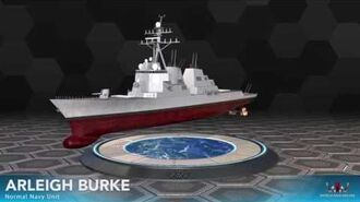 World War Online - Arleigh Burke (Normal Navy Unit)