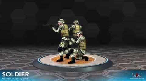 World War Online - Soldier (Normal Infantry Unit)