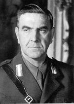 Ante Pavelic portrait in uniform