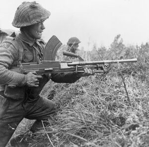 Bren gunner of the Royal Scots 06-11-1944