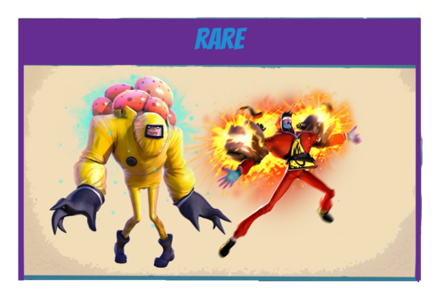 Zombies-rare