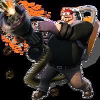 Survivor5 legendary Chaingunner