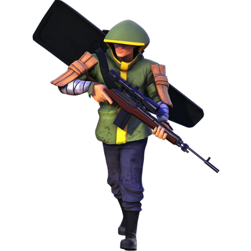 Human rare sharpshooter