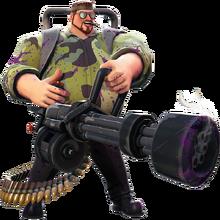 Survivor4 epic Minigunner