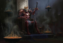 Король скелет Корвиус