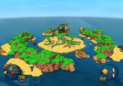 Apple Core Island view