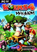Worms 4- Mayhem PC boxart