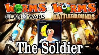 Worms Clan Wars Battlegrounds The Soldier