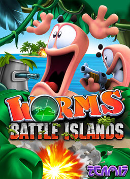 Worms Battle Islands Cover
