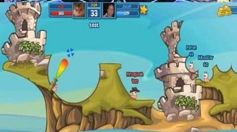 Worms Facebook Gameplay Trailer