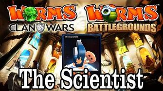 Worms Clan Wars Battlegrounds The Scientist