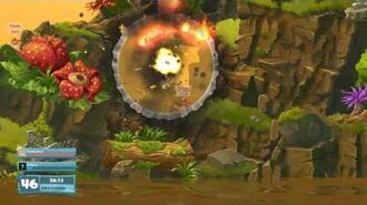 Worms W.M.D Weapon Reveal- Mega Bunker Buster!