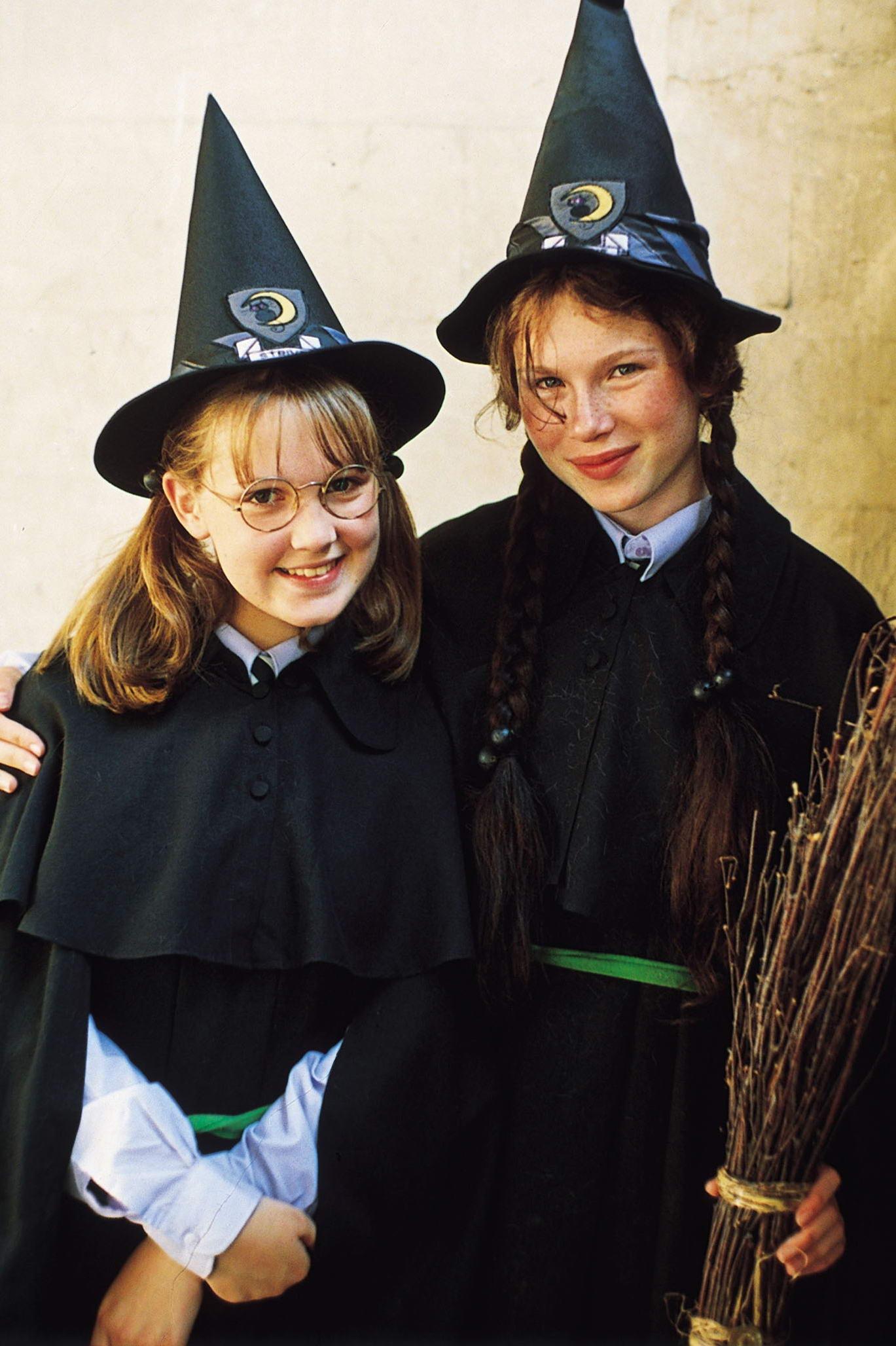 Black Silver Worst Witch Mildred Hubble School Tie World Book Day Halloween