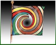 White Tower Flag Black Ajah-green