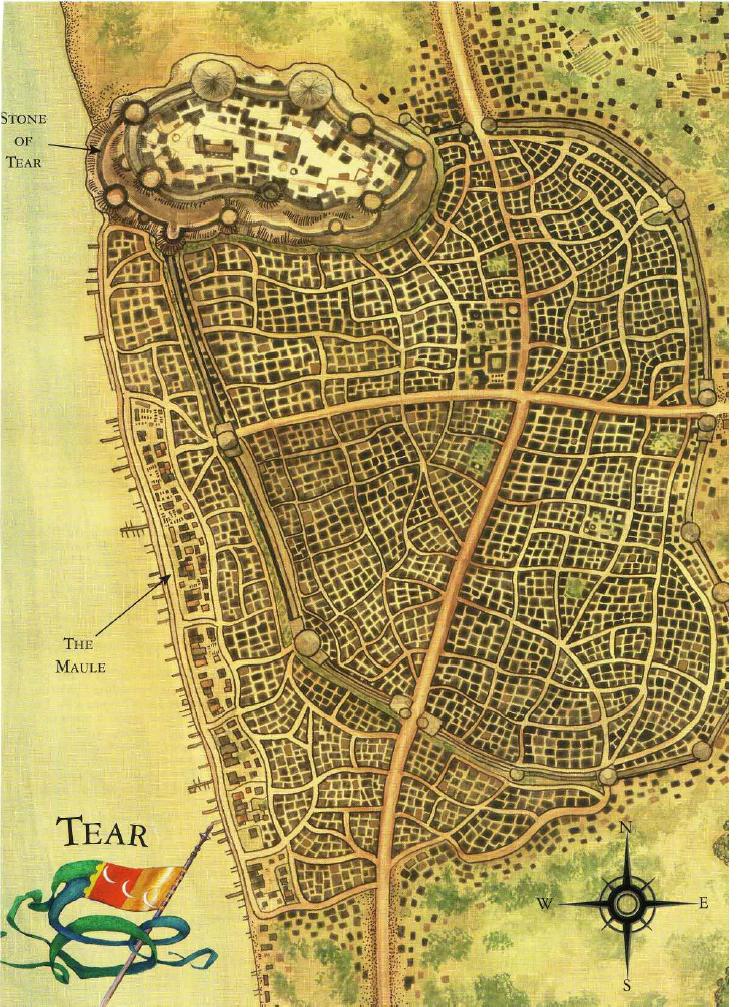 Tear a wheel of time wiki fandom powered by wikia map of tear gumiabroncs Gallery