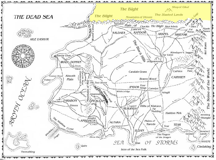 Image - Blight map.png | A Wheel of Time Wiki | FANDOM powered by Wikia