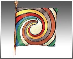 Aes Sedai flag ajah-gray