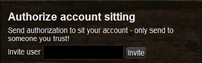 Account sitting1