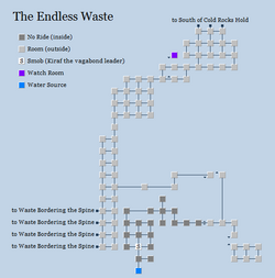 Zone 122 - The Endless Waste